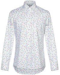 Grey Daniele Alessandrini Shirt - White