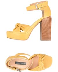 Janet & Janet Sandals - Yellow