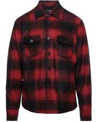 Hydrogen Camisa - Rojo