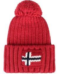 Napapijri Beanie Hat - Red
