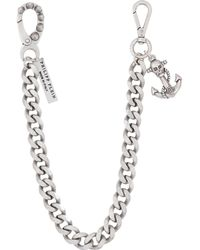 Philipp Plein Key Ring - Metallic