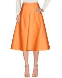 Solace London - 3/4 Length Skirt - Lyst