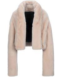 Cedric Charlier Teddy coat - Neutro