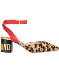 Moschino Court Shoes - Natural