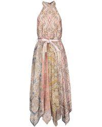 Zimmermann Knee-length Dress - Pink