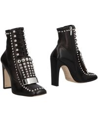 Sergio Rossi Ankle Boots - Black