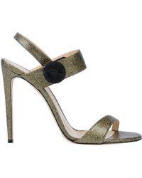 Chloe Gosselin Sandals - Metallic