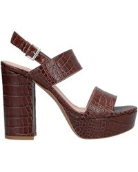Ovye' By Cristina Lucchi Sandals - Brown