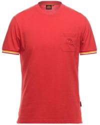 Sundek T-shirt - Rosso