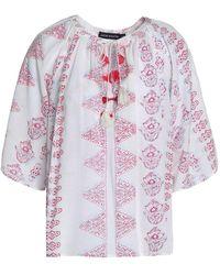 Antik Batik Blusa - Blanco