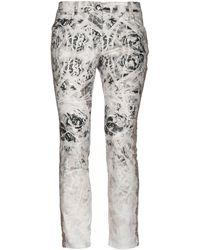 Blumarine Casual Trousers - Natural