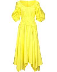 Eudon Choi Knee-length Dress - Yellow