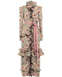 Brock Collection Coat - Multicolour