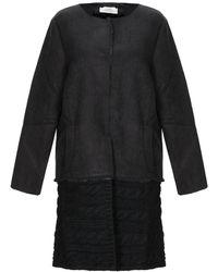 Ivories Coat - Black