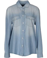 GANT - Denim Shirt - Lyst