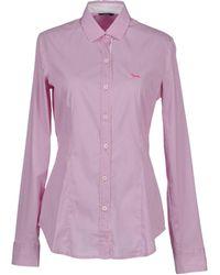 Harmont & Blaine Long Sleeve Shirt - Purple