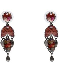 Ayala Bar Earrings - Red