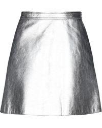 Moschino Mini Skirt - Metallic