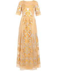 Alberta Ferretti Long Dress - Multicolor