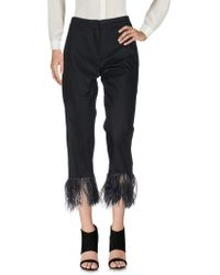 Soho De Luxe - Pantalone capri - Lyst