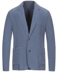 Rochas Suit Jacket - Blue