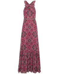 Talitha Long Dress - Pink