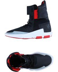 Y-3 Sneakers abotinadas - Negro