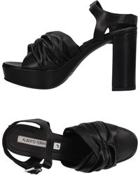 Alberto Fermani Sandals - Black