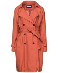 Caractere Overcoat - Orange