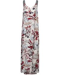 LE COEUR TWINSET Long Dress - White