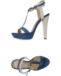 1065ea7c135 18kt Sandals in Blue - Lyst