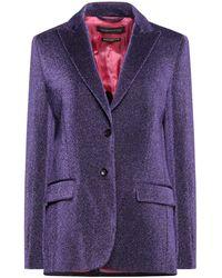 Department 5 Suit Jacket - Purple