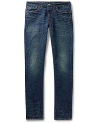 RRL by RALPH LAUREN Denim Trousers - Blue