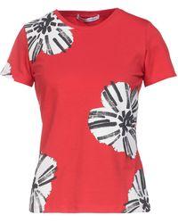 Caractere Camiseta - Rojo