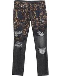 Just Cavalli Pantalon en jean - Multicolore