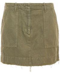 Nili Lotan Mini Skirt - Green