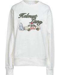 Helmut Lang Sweatshirt - Weiß