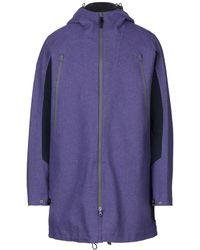 Dirk Bikkembergs Coat - Purple