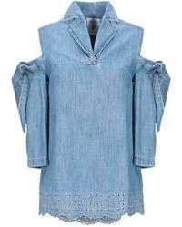 Steve J & Yoni P Camicia jeans - Blu