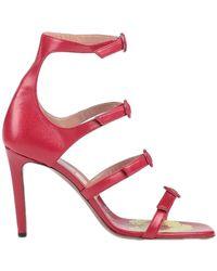 L'Autre Chose Sandale - Rot