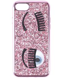 Chiara Ferragni Cover & Hüllen - Pink