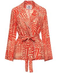 Attic And Barn Suit Jacket - Red