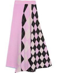 Pringle of Scotland 3/4 Length Skirt - Pink