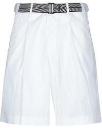 Giorgio Armani Shorts & Bermuda Shorts - White