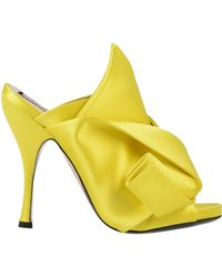 N°21 Sandals - Yellow