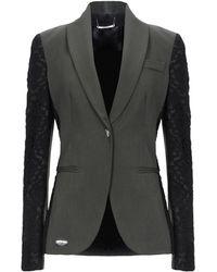 Philipp Plein Suit Jacket - Grey