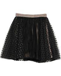 BROGNANO Midi Skirt - Black