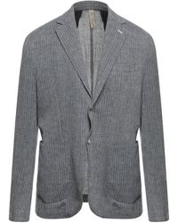 DISTRETTO 12 Suit Jacket - Grey