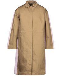 Armani Exchange Overcoat - Natural
