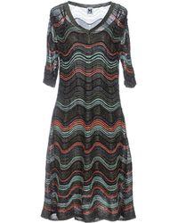 M Missoni Knee-length Dress - Black